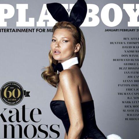 PHOTOS –Décès de Hugh Hefner: Charlize Theron, Kate Moss, Sharon Stone… ces stars qui ont posé pour Playboy