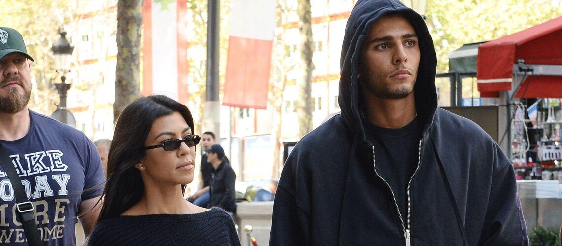 PHOTOS – Kourtney Kardashian, de retour à Paris après l'agression de sa soeur avec son petit ami Younes Bendjima