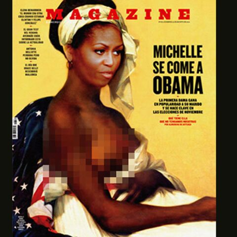 Michelle Obama, esclave… de son image