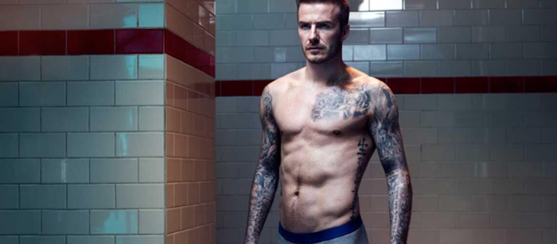 Dans les vestiaires avec David Beckham