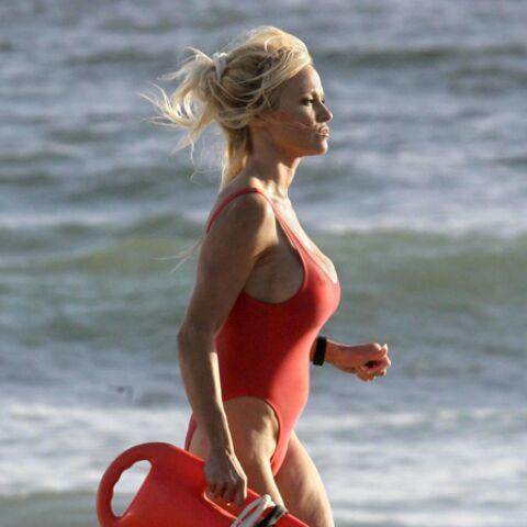 Pamela Anderson, alerte au marathon de New York