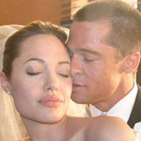 Angelina Jolie et Brad Pitt, le mariage de leur rêve