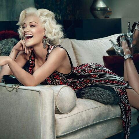Rita Ora: Marilyn moderne pour Roberto Cavalli