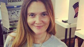 Photo – Drew Barrymore s'affiche couverte de transpiration
