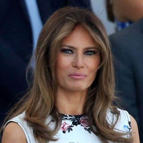 PHOTO – Melania Trump en talons hauts pour rendre visite aux sinistrés du Texas