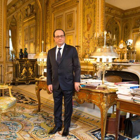 François Hollande marche pour Michel Cymes