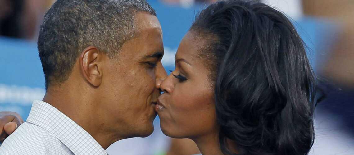 Michelle et Barack Obama, leur amour sur pellicule