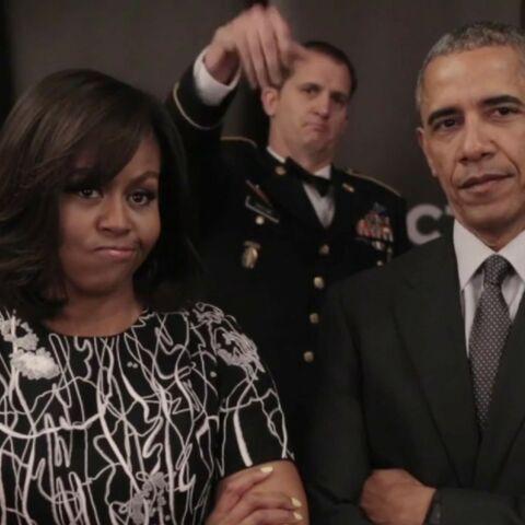 Vidéo – Les Obama défient le prince Harry … et la reine!