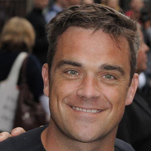 Robbie Williams: jamais sans belle-maman!