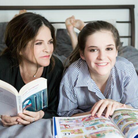 Charlotte Valandrey: «Je suis heureuse, seule avec ma fille»