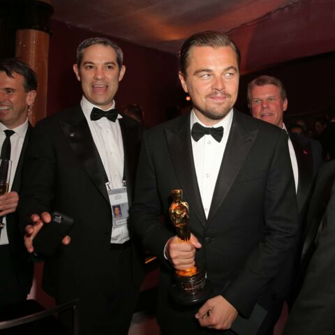 Leonardo DiCaprio, sa soirée après la victoire