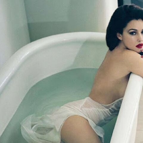 Au bain avec Monica Bellucci
