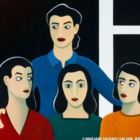 Découvrez les femmes de Marjane Satrapi