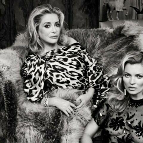 Catherine Deneuve et Kate Moss, parenthèse mode inattendue