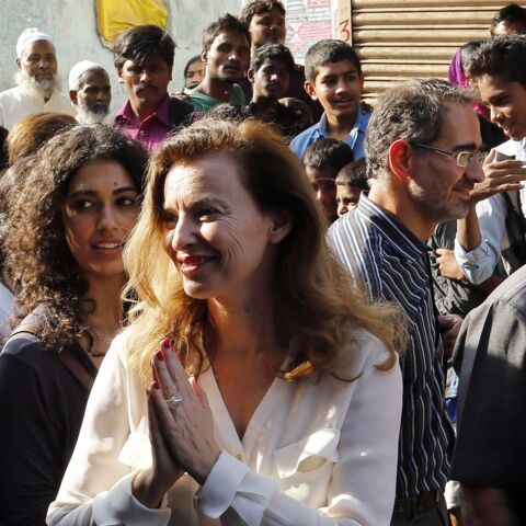 Photos- Valérie Trierweiler en Inde, la parenthèse désenchantée