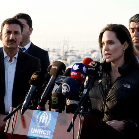 """Angelina Jolie: """"les souffrances des Irakiens sont pires que tout"""""""