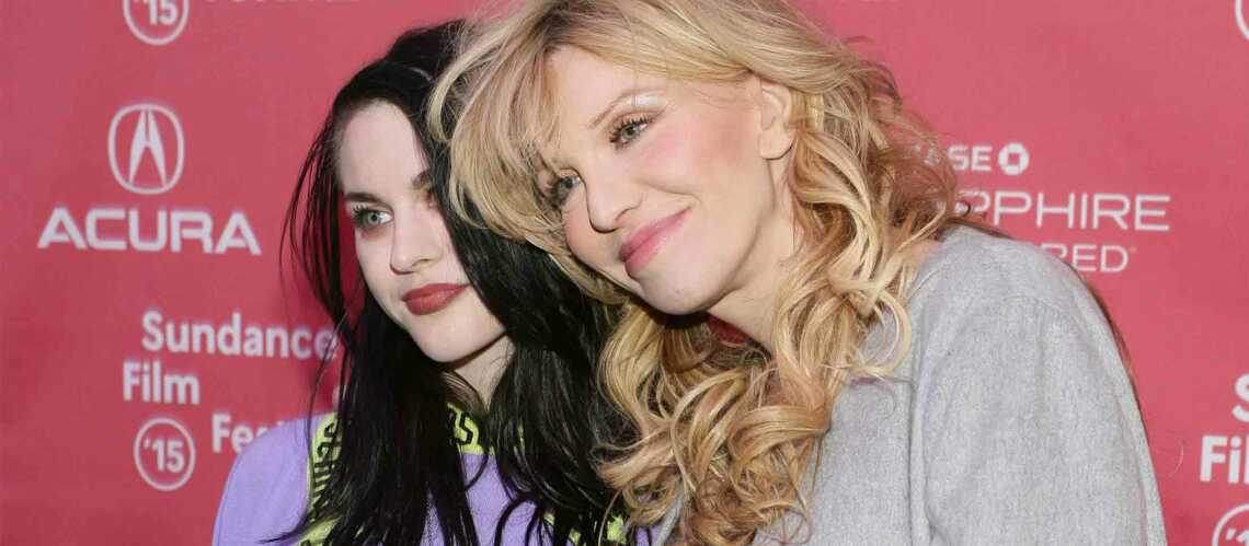 Courtney Love, femme enceinte irresponsable