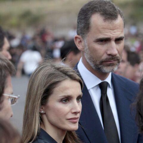 Photos- Letizia et le prince Felipe d'Espagne au chevet des victimes