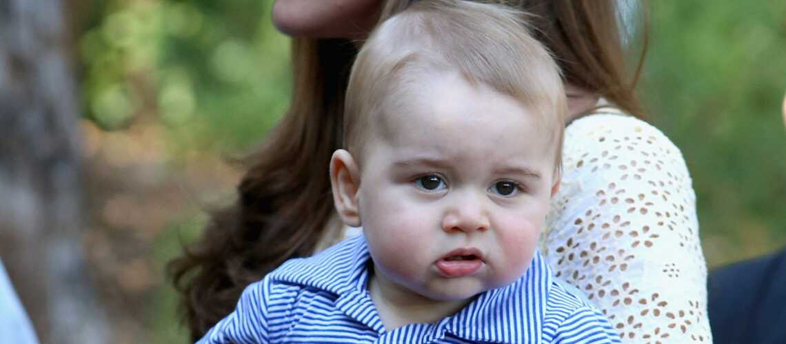 Le prince George apprend à nager