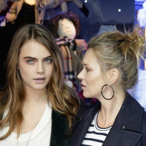 Kate Moss et Cara Delevingne: le torchon brûle!