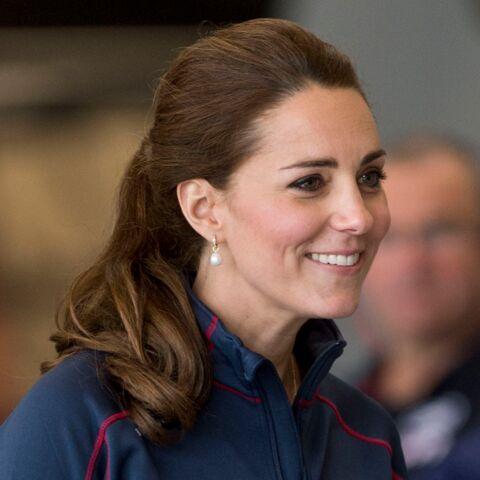 Princesse Kate se fait des cheveux blancs