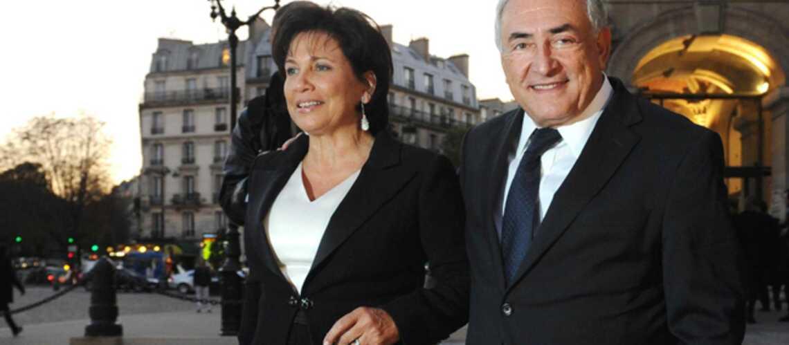 Anne Sinclair et Dominique Strauss-Kahn: le roman-photo de leur amour