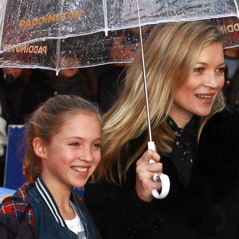 Kate Moss est une mère comme les autres: gênante