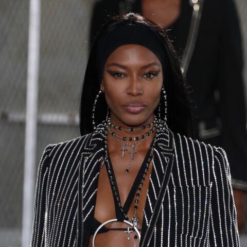 Naomi Campbell fait fureur au défilé homme de Givenchy