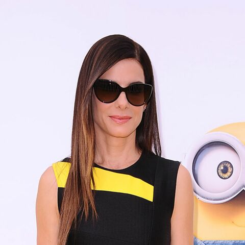 """Sandra Bullock: """"Minions"""" le look!"""