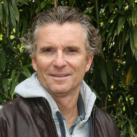 Denis Brogniart se change les idées à Roland Garros