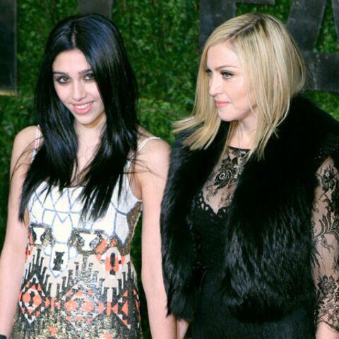 Madonna: sa fille ne veut plus d'elle en soirée!