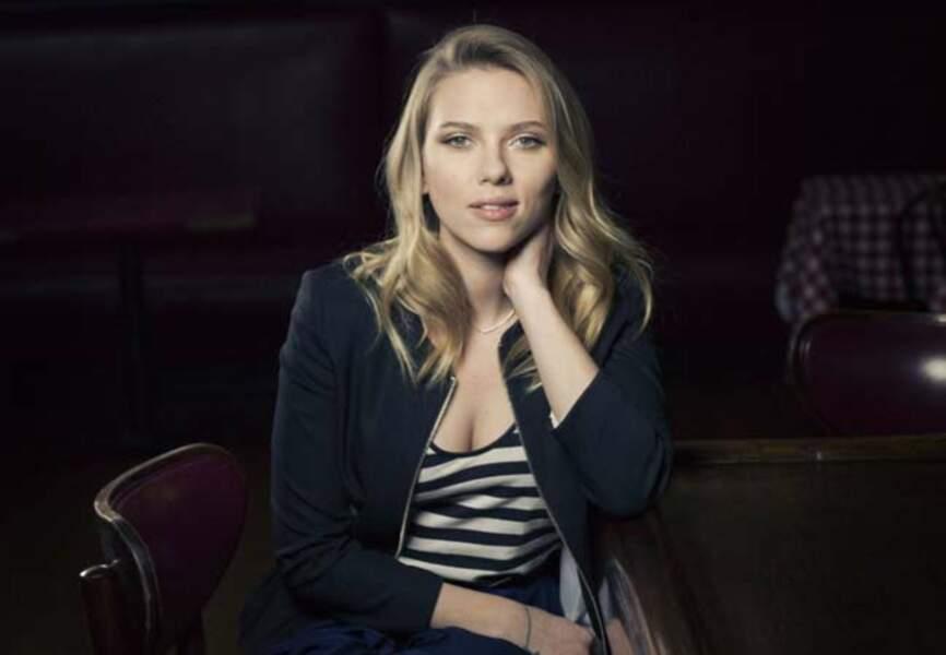 Scarlett Johansson bientôt en Hillary Clinton