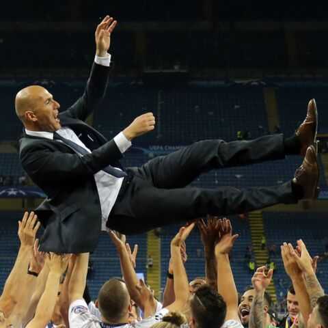 Photos – La folle soirée de Zinédine Zidane