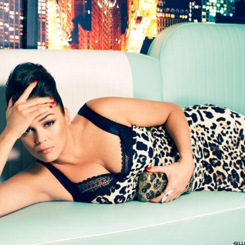 Mode- Séquence glamour avec Lola Dewaere