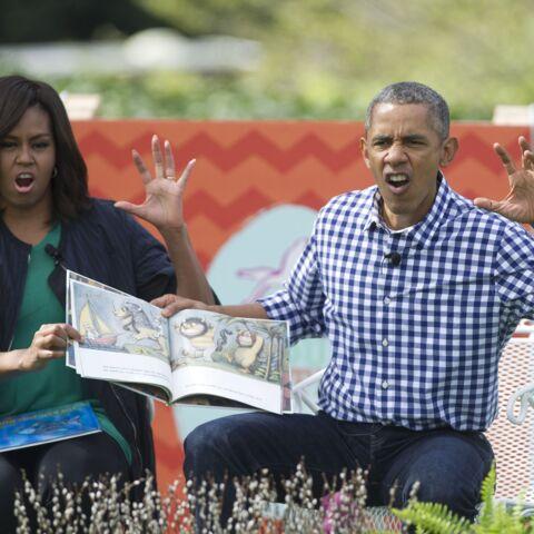 Photos – La dernière chasse aux oeufs des Obama