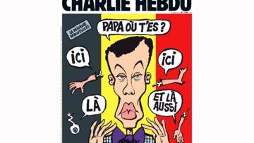 Stromae caricaturé pour Charlie Hebdo