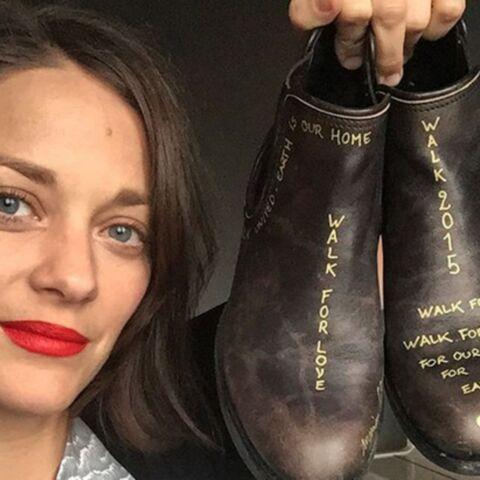 Marion Cotillard et Vanessa Paradis: leurs chaussures manifestent pour elles