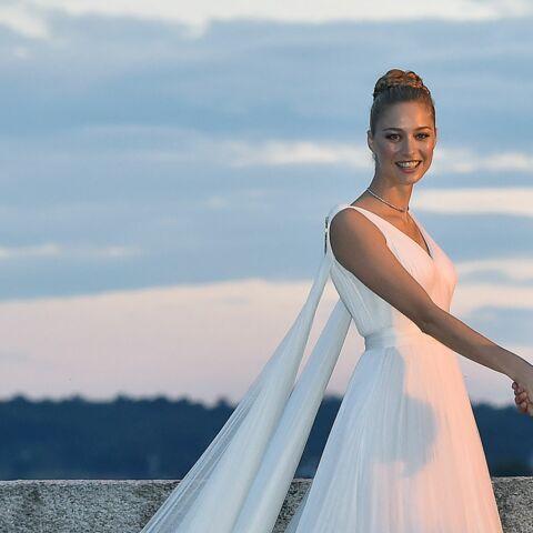 PHOTOS – Beatrice Borromeo dévoile des clichés inédits des essayages de sa robe de mariée