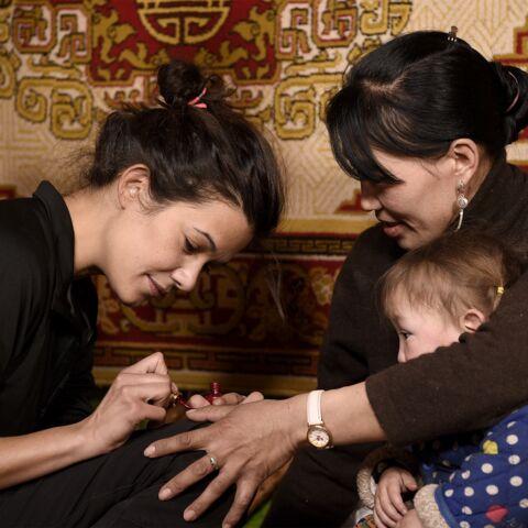 PHOTOS – Rendez-vous en terre inconnue: Mélanie Doutey dans les pas de ses ancètres en Mongolie