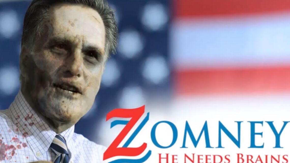 Mitt Romney pourrait être «le président de l'apocalypse zombie»