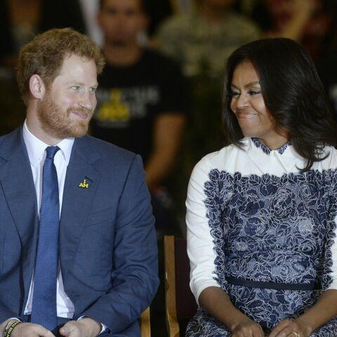 Prince Harry en toute complicité avec les Obama
