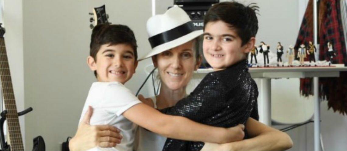 PHOTOS – Céline Dion fête les 7 ans de ses jumeaux, Cristina Cordula, déguisée est magnifaïïk, Sylvester Stallone et ses trois filles… Hot, insolite ou drôle, la semaine des stars en images