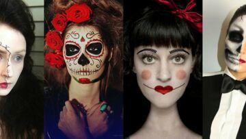 Maquillage Halloween: 30 idées make-up Halloween à copier repérés sur Pinterest