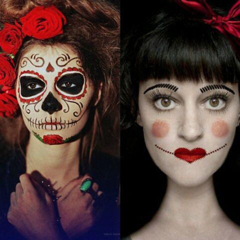 Maquillage Halloween 30 Idees Make Up Halloween A Copier