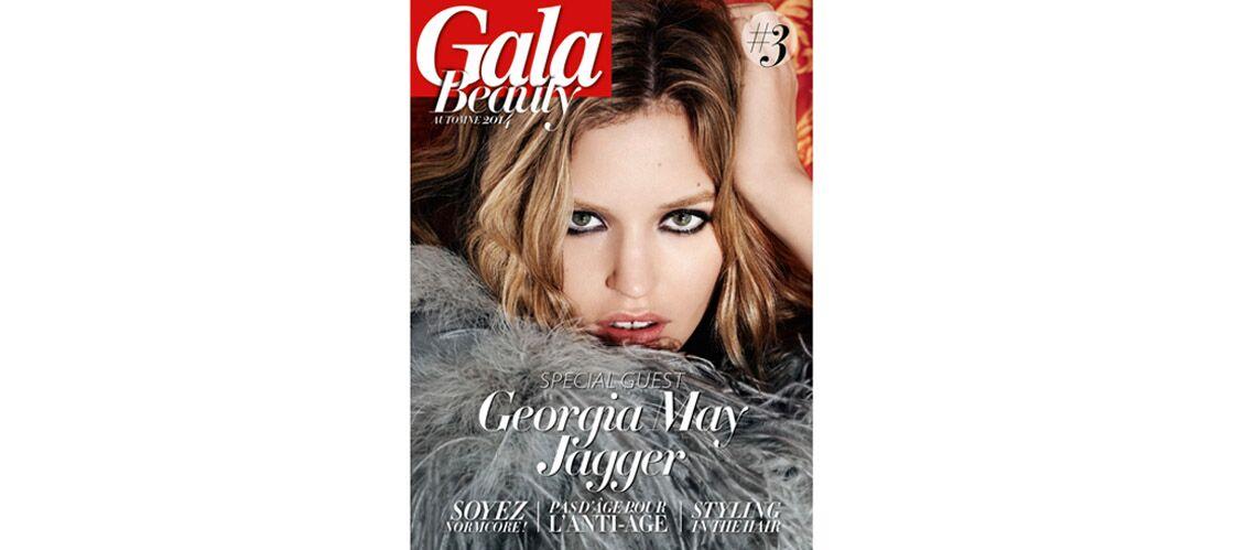 Georgia May Jagger à la Une du Gala Beauty #3