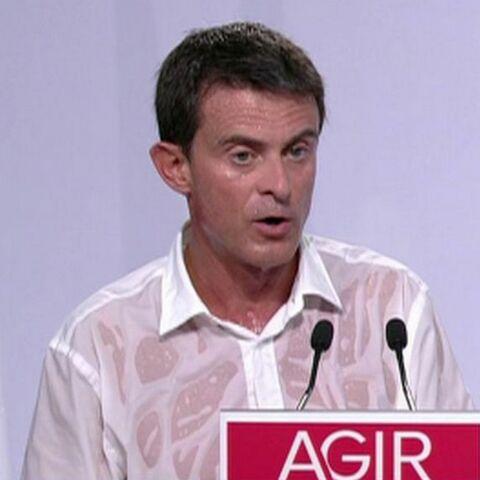Manuel Valls: concours de «chemise mouillée» à la Rochelle