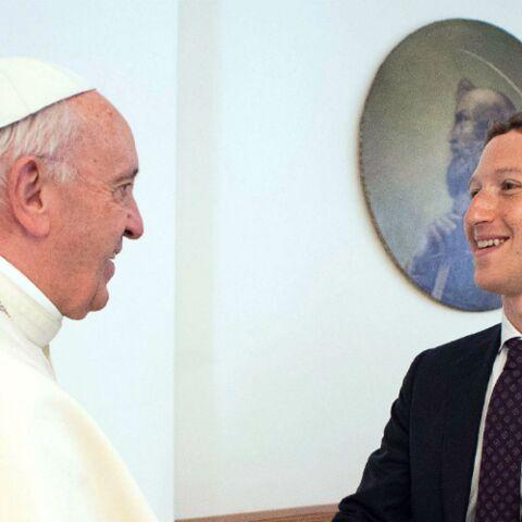 Le drôle de cadeau de Mark Zuckerberg au Pape François