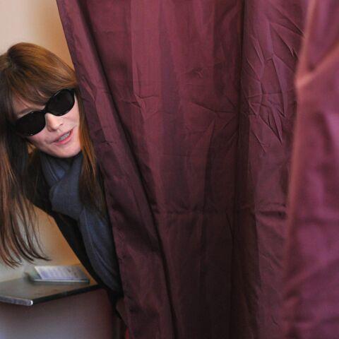 Carla Bruni-Sarkozy soutient son mari pour un retour en politique