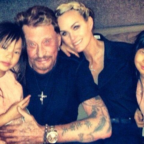 Johnny, Laeticia, Laura: l'union sacrée