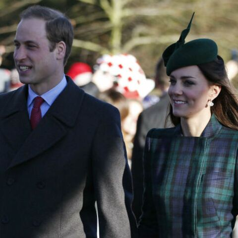 Kate, William et George, leur Nouvel An en famille